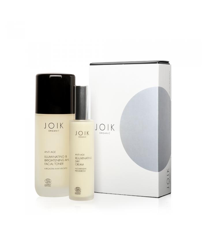 Rejuvenating facial care gift box