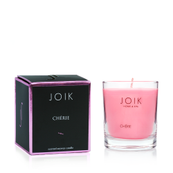"Scented candle in the box ""Cherie"""