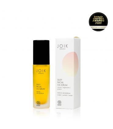 Silky facial oil serum