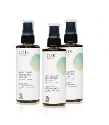 Set of Anti-Cellulite Skin Toning Body Oils 3 pcs