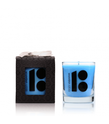 Estonia 100 years anniversary candle Blue 145 g