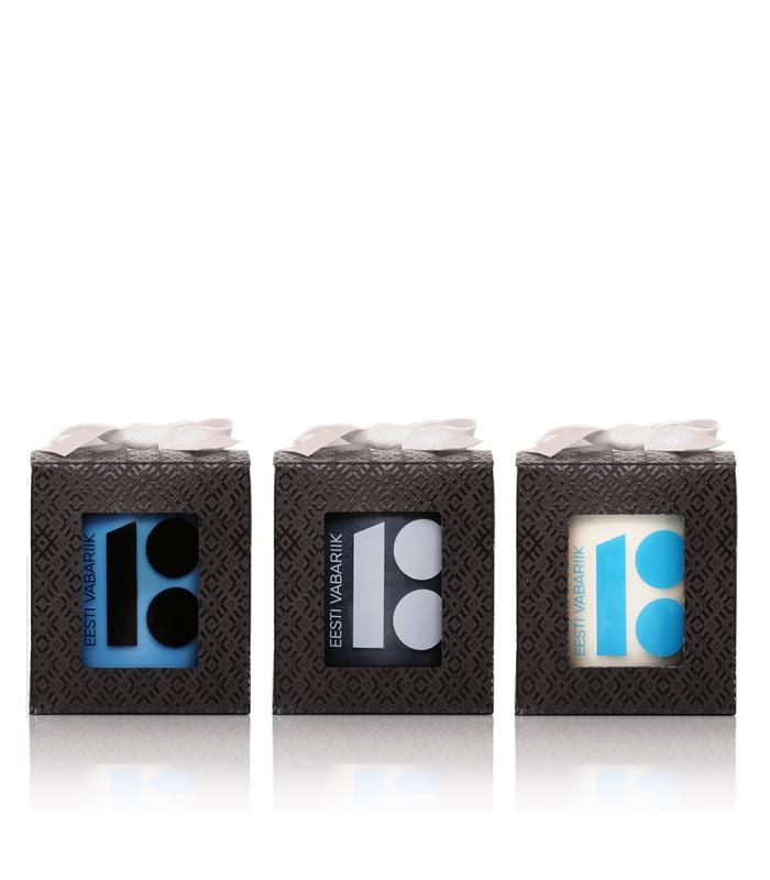JOIK Estonia 100 blue-black-white trio