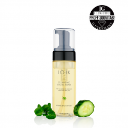 Cleansing facial foam with cucumber & watercress extracts & aloe juice