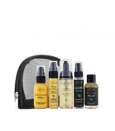 Travel set with mini-size products