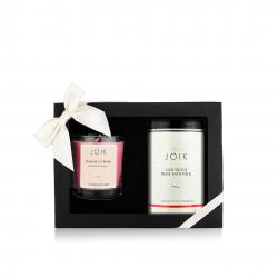 Rosy bath experience gift box