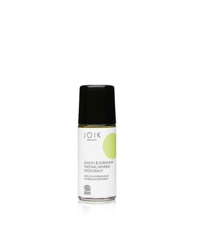Lemon & Geranium Natural Mineral Deodorant