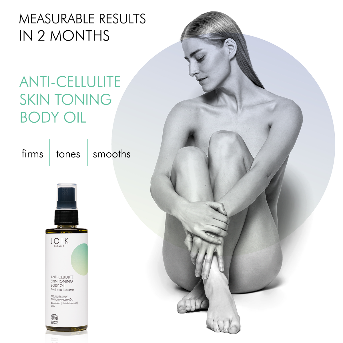 Smoother and firmer skin with anti-cellulite oil. Survey results