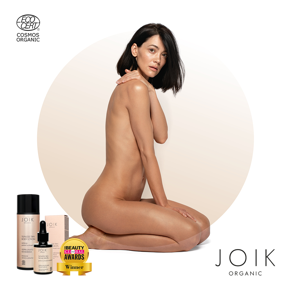 Victorius year for JOIK self-tan products!